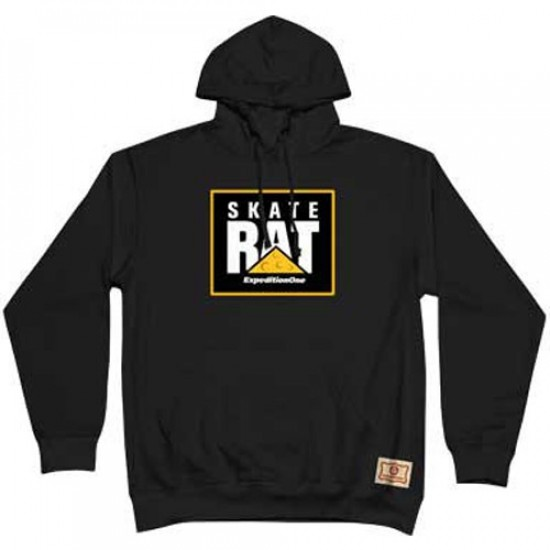 Expedition Skate Rat Hooded Sweatshirt - Black