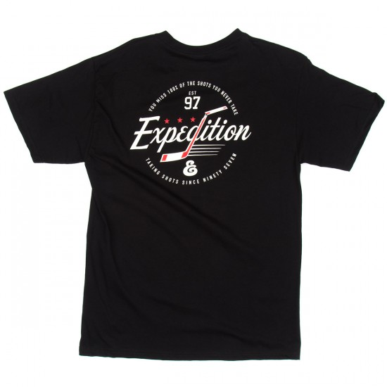 Expedition Stick Script T-Shirt - Black