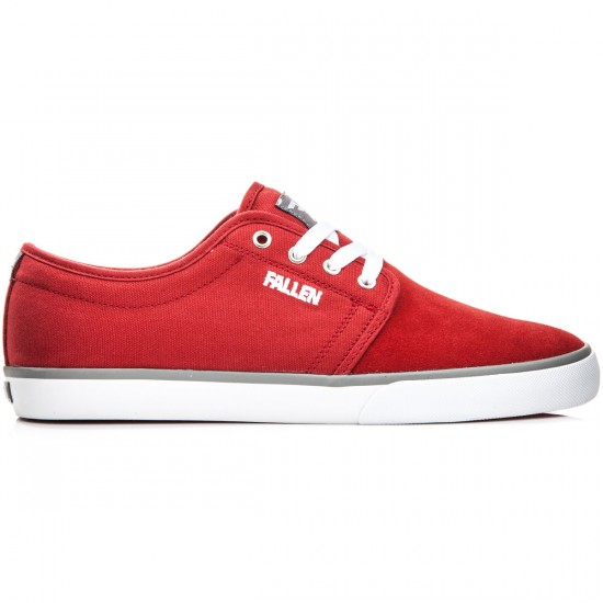 Fallen Forte 2 Shoes - Blood Red/Cement - 8.0