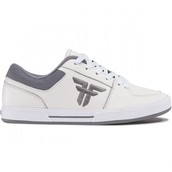 Fallen Patriot Shoes - White/Cement Grey - 7.0
