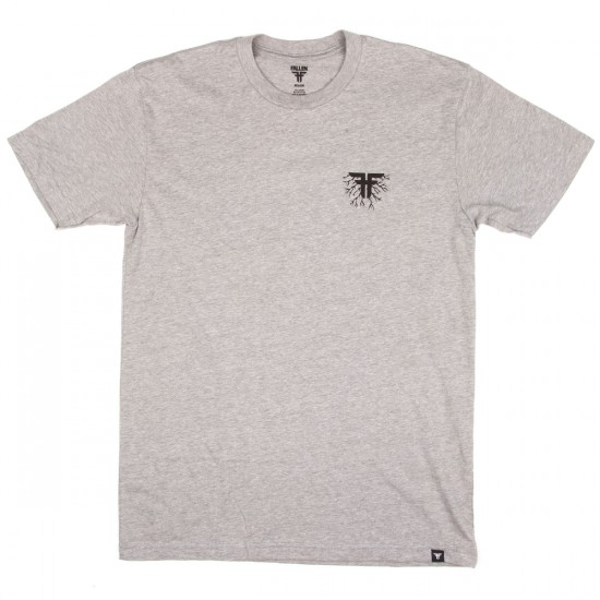 Fallen Roots T-Shirt - Dark Heather Grey