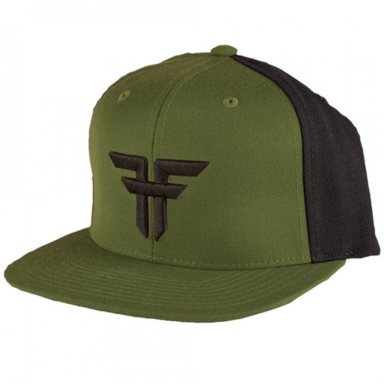 Fallen Trademark Starter Hat - Surplus Green/Black