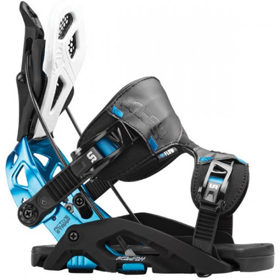 Flow Fuse-GT Snowboard Bindings 2016 - Black/Blue