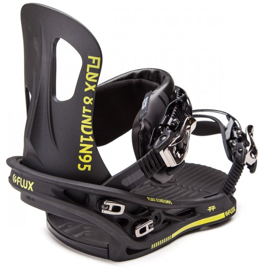 Flux TT Snowboard Bindings - Metallic Matte Black