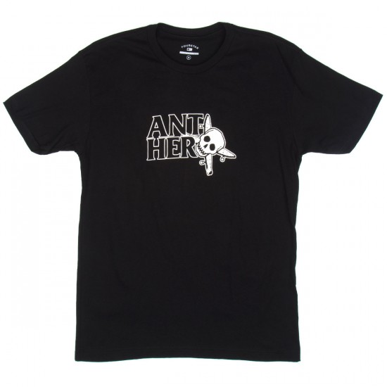 Fourstar Anti Hero Thumbs Up T-Shirt - Black