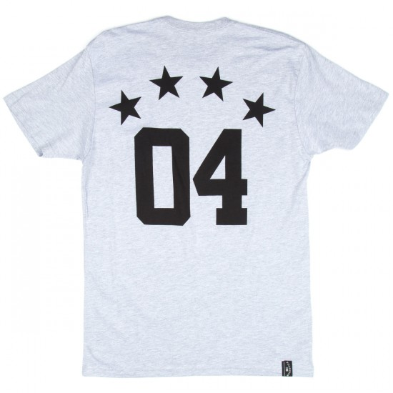 Fourstar Athletic Standard T-Shirt - Athletic Heather Grey