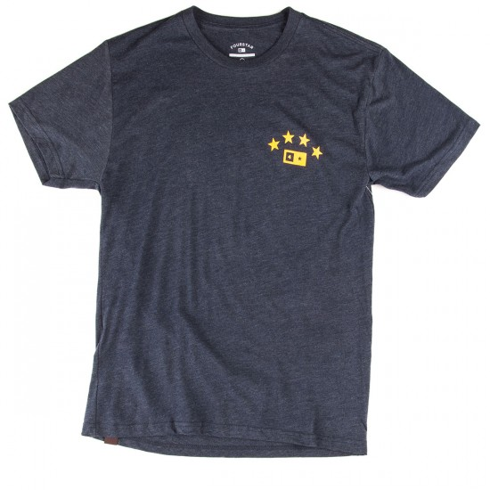Fourstar Athletic Triblend T-Shirt - Denim Heather