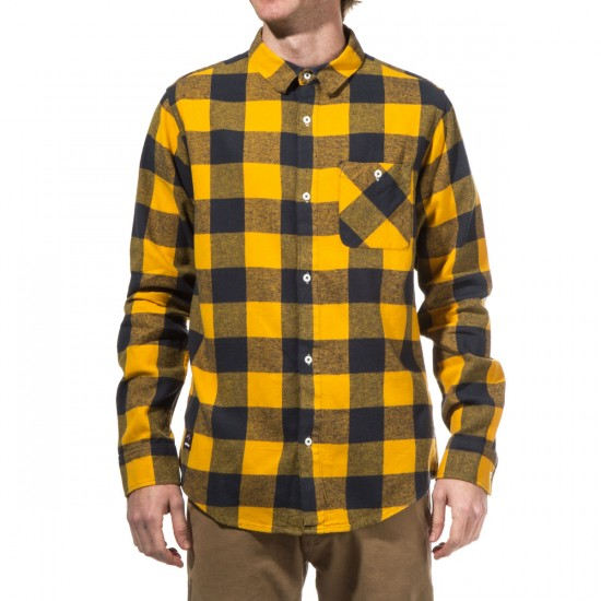 Fourstar Buffalo Long Sleeve Shirt - Mustard