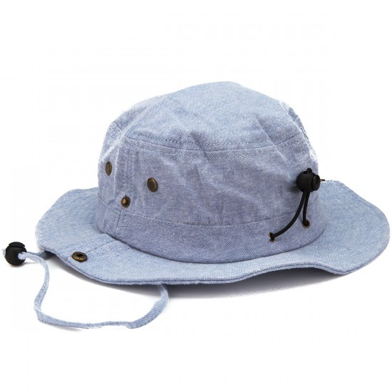 Fourstar Chambray Boonie Hat - Light Indigo
