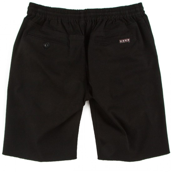 Fourstar Collective Drawcord Shorts - Black