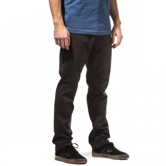 Fourstar Collective Pants - Charcoal Heather - 28 - 32