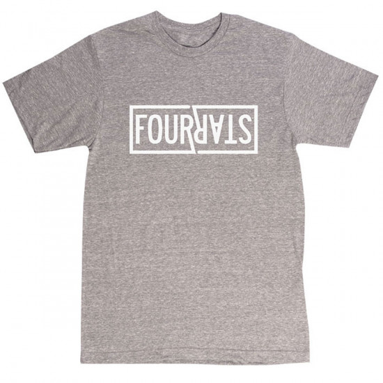 Fourstar Double R Triblend T-Shirt - Grey Heather