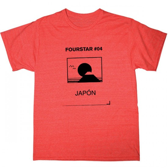 Fourstar Japan Triblend T-Shirt - Red