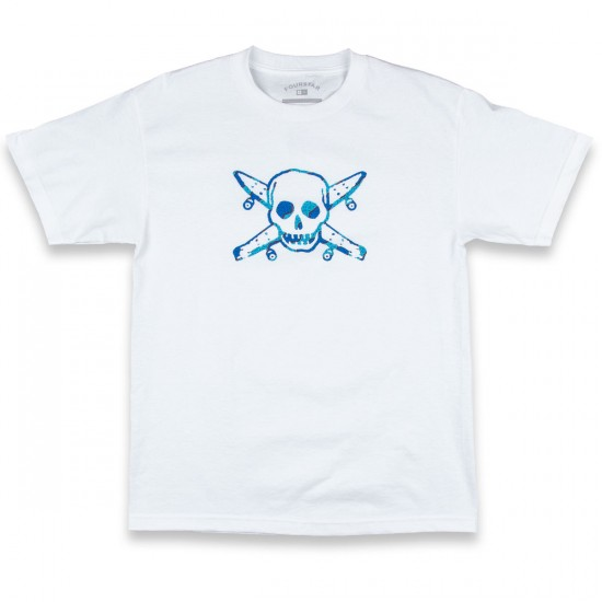 Fourstar Kennedy Pirate T-Shirt - White