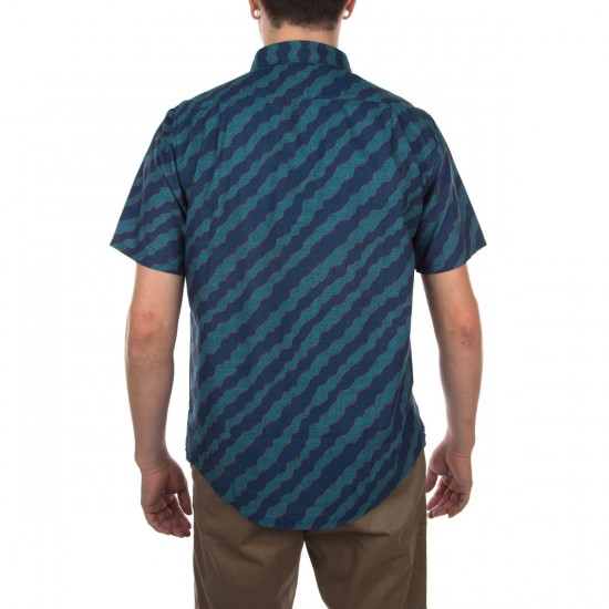 Kennedy Short Sleeve Shirt - Aqua