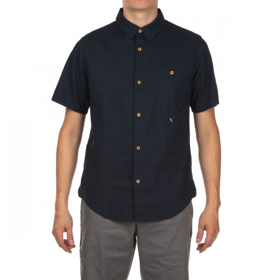 Fourstar Kennedy Short Sleeve Shirt - Thundercloud