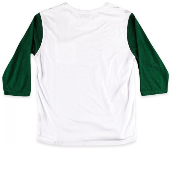 Fourstar Leavenworth 3/4 T-Shirt - White