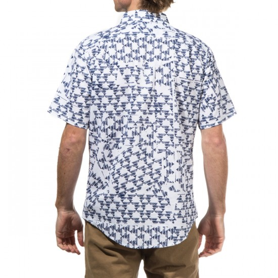 Fourstar Montana Short Sleeve Shirt - White