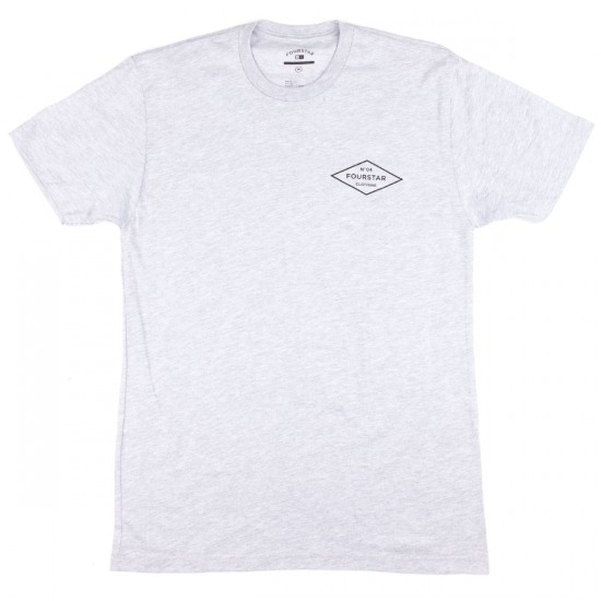 Fourstar No.04 Diamond T-Shirt - Grey Heather