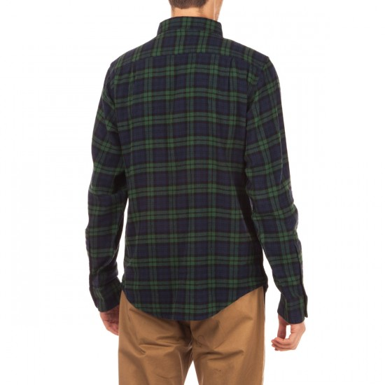 Fourstar Peterbilt Flannel Shirt - Navy