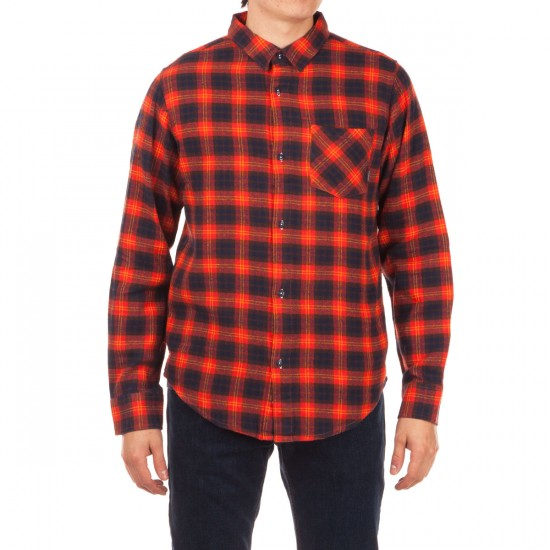 Fourstar Peterbilt Flannel Shirt - Red