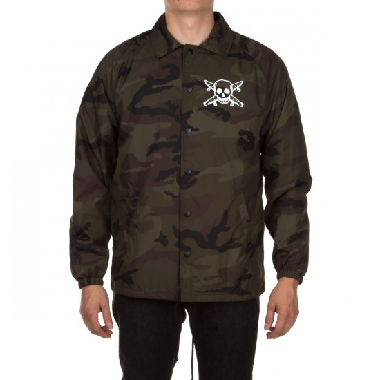 Fourstar Pirate Coaches Jacket - Camo