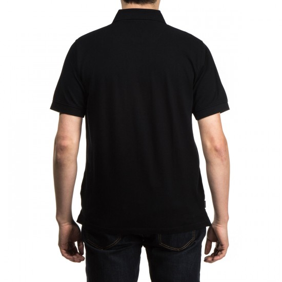 Fourstar Pirate Polo Shirt - Black