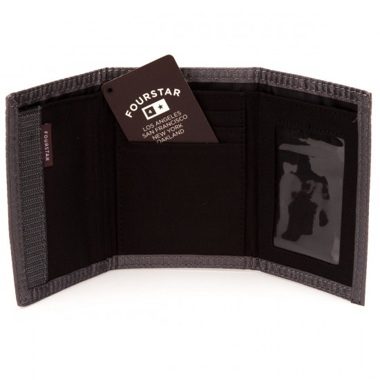 Fourstar Pirate Wallet - Black