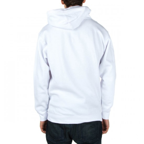 Fourstar Thumbs Up Pullover Hoodie - White