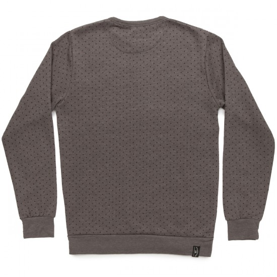 Fourstar Triangle Crew Sweatshirt - Gunmetal Heather