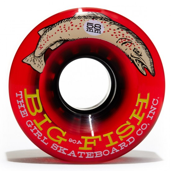 Girl Big Fish Skateboard Wheels - 58mm - 90a