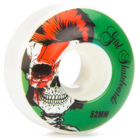 Girl Skull Of Fame Skateboard Wheels - 52mm