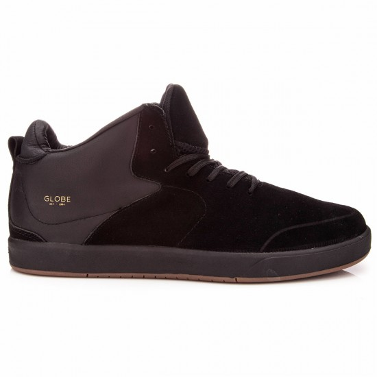 Globe Abyss Shoes - Blackout - 9.0