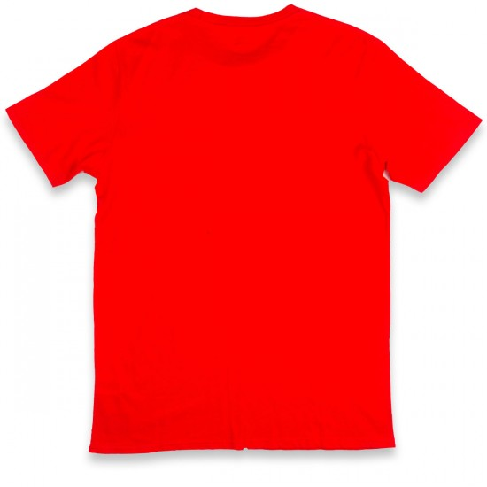 Globe Bolt T-Shirt - Red