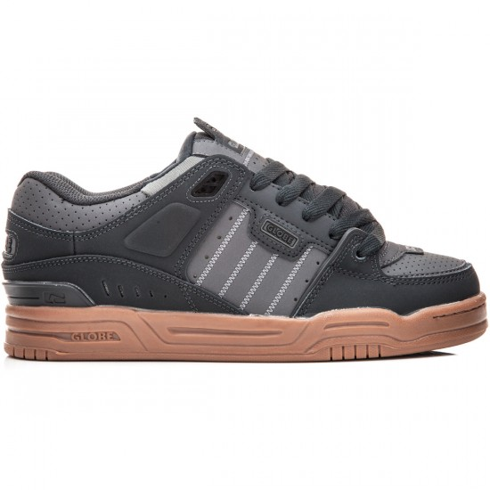 Globe Fusion Shoes - Night/Charcoal/Gum - 8.0