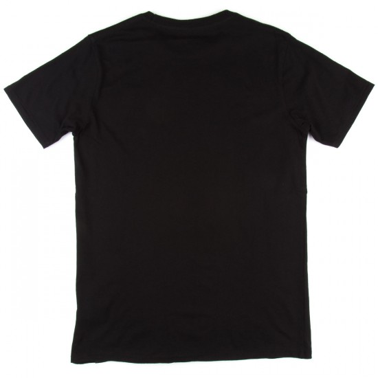 Globe Journal T-Shirt - Black