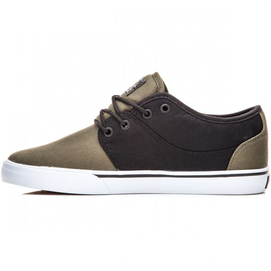 Globe Mahalo Shoes - Black/Olive - 8.0