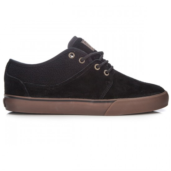 Globe Mahalo Shoes - Black/Tobacco Gum - 8.5