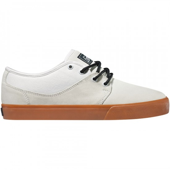 Globe Mahalo Shoes - White/Gum - 7.0