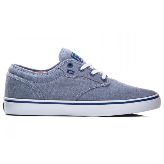 Globe Motley Shoes - Navy/Chambray - 8.0