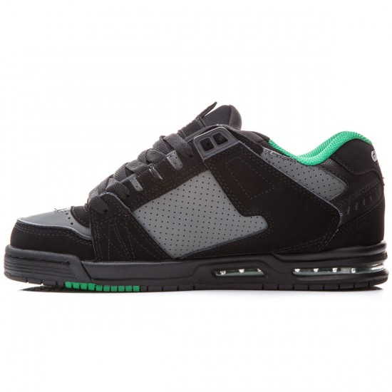 Globe Sabre Shoes - Black/Charcoal/Apple - 8.0