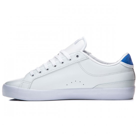 Globe Status Shoes - White/Blue - 8.0