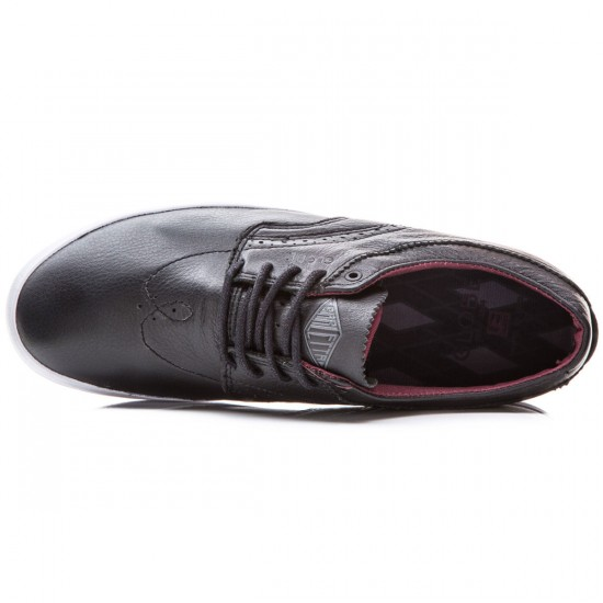 Globe The Taurus Shoes - Black/Burgundy - 8.0