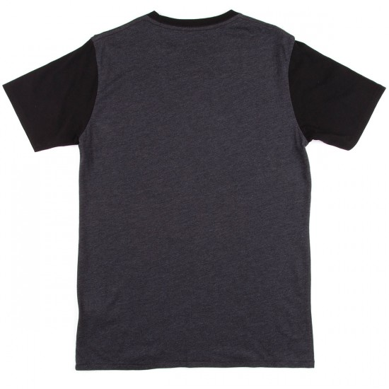 Globe Windsor T-Shirt - Black Heather