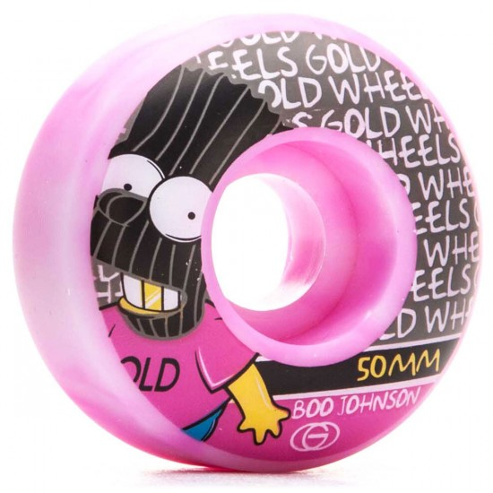 Gold Brat Boo Skateboard Wheels - 50mm