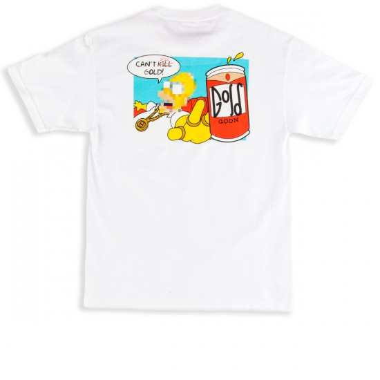 Gold Duff T-Shirt - White