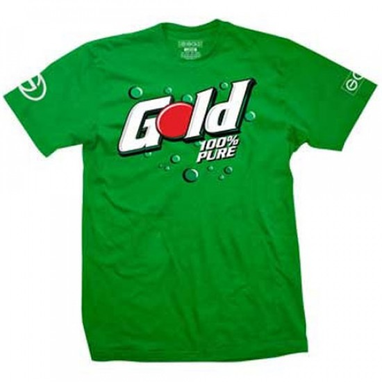 Gold Uncola T-Shirt - Green