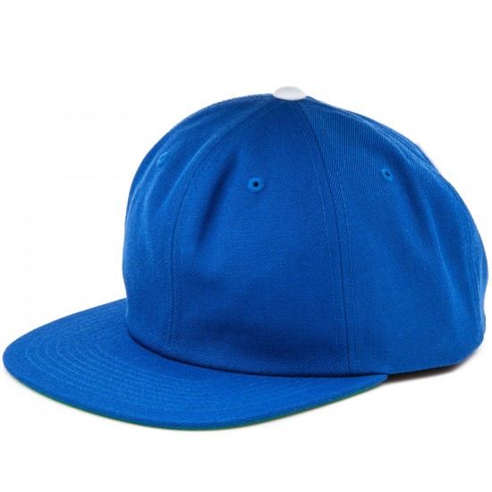 Grizzly Grip Back To Back Snapback Hat - Royal Blue