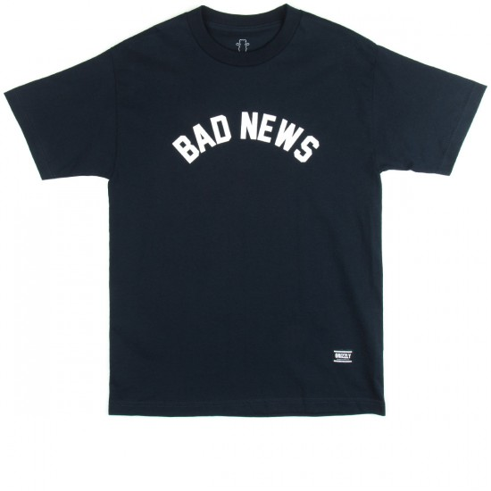 Grizzly Grip Bad News T-Shirt - Navy