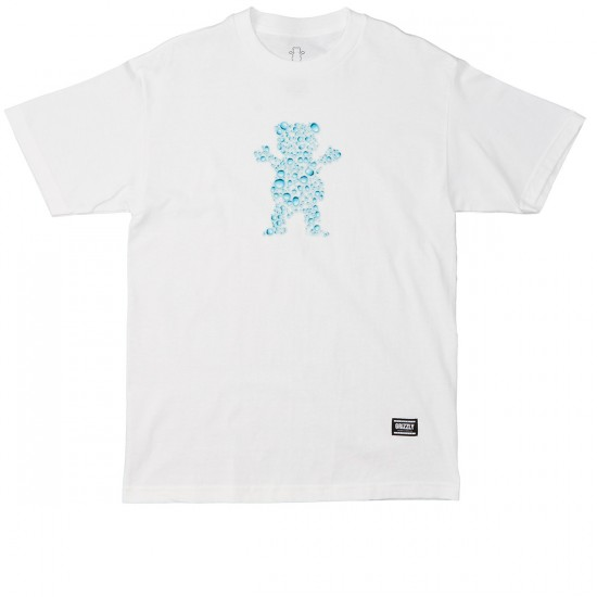 Grizzly Grip Drops OG Bear T-Shirt - White